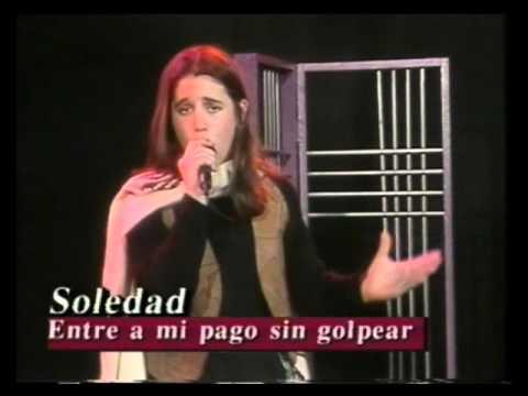 Soledad video Entre a mi pago sin golpear - PRIMERA VEZ EN TV - 1996