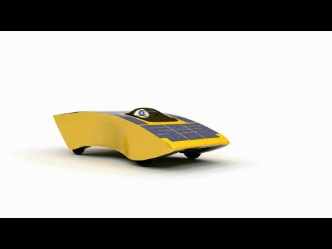 Archimede Solar Car - Trailer