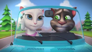 Video Talking Angela - Summer Fun at the Beach with Talking Tom (Shorts Combo) MP3, 3GP, MP4, WEBM, AVI, FLV Mei 2019