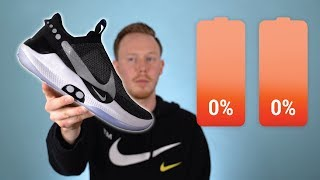 Wearing the Self Lacing Nike Adapt BB for a WEEK Without Charging!? Lifestyle Review