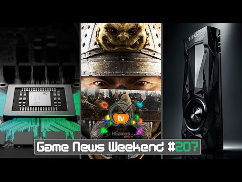 Игровые Новости — Game News Weekend #207 | (Детали Project Scorpio, GeForce Titan XP, Total War)