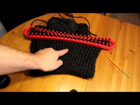 Strickrahmen stabilisieren Teil 01/10: Das Problem mit Wolle