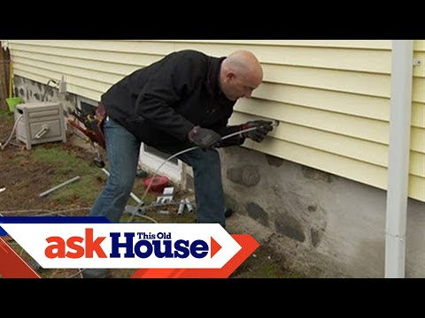 How to Run Underground Wiring to a Garage - This Old House