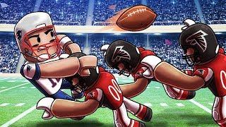 Roblox   NFL FOOTBALL: Patriots vs Falcons! (Roblox NFL Adventures)