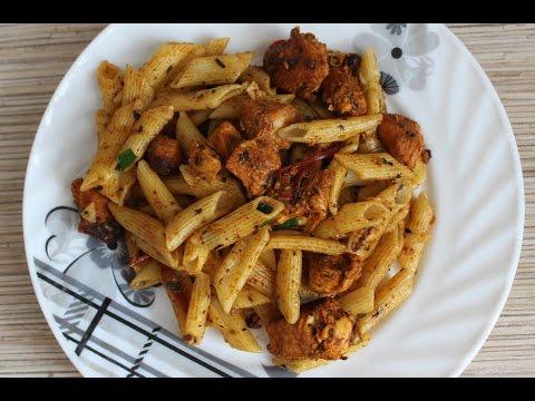 Рецепты из макарон и окорочка