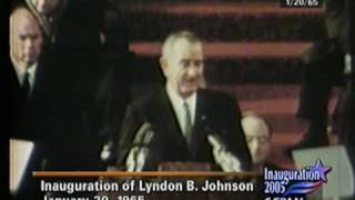 President Johnson 1965 Inaugural Address