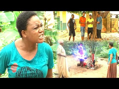 THE VILLAGE GIRL NO ONE BORN OF A WOMAN CAN DEFEAT - RACHAEL OKONKWO 2017 latest nigerian movies