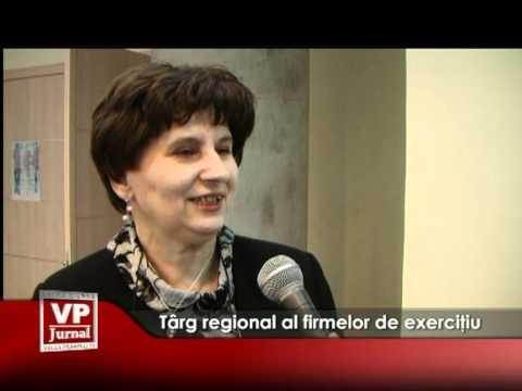 Târg regional al firmelor de exercitiu