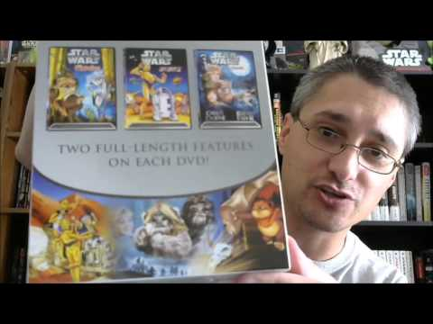 From the Star Wars Home Video Library #83: Ewoks and Droids DVD Boxed Set (2004)