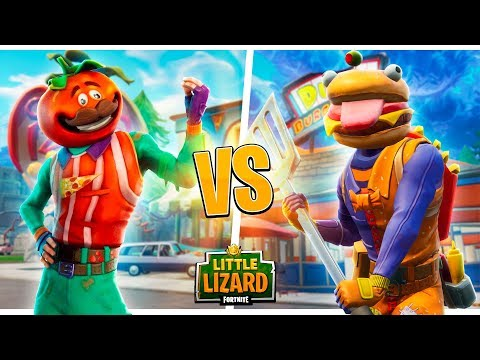 DURR BURGER *BEEF BOSS* VS TOMATO HEAD - FORTNITE SHORT FILMS