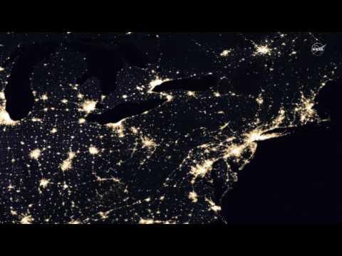 地球夜晚太醉人 NASA公布美照