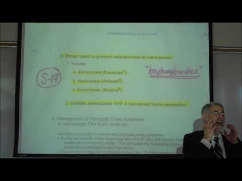 The Bisphosphonates Used in the Treatment of Osteoporosis by Professor Fink
