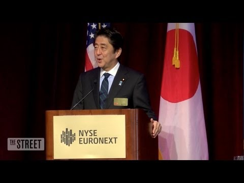 abe - Prime Minister Shinzo Abe urged America to adopt Japan's energy saving technology as he continues structural reform in Japan. Subscribe to TheStreetTV on You...