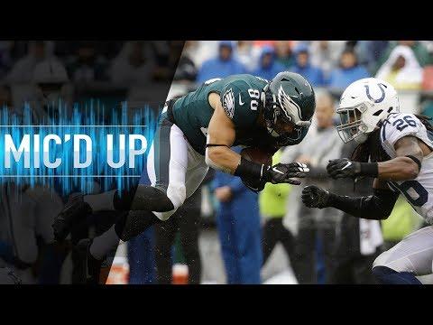 Video: Zach Ertz Mic'd Up vs. Colts