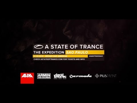 Today is ASOT600 Sao Paulo!