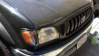 Sorry for the delay.. life happens I guess. This is the second part of the series where I did a very low budget DIY paint and polish of the headlights on my 2002 Tacoma. Thanks for watching!