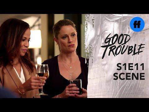 Good Trouble Season 1, Episode 11 | A Very Uncomfortable Toast | Freeform
