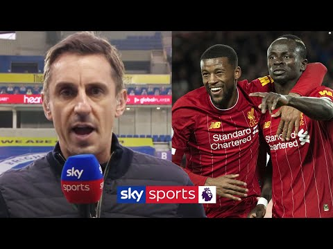 Gary Neville's FIRST interview since Liverpool's Premier League title win 🏆