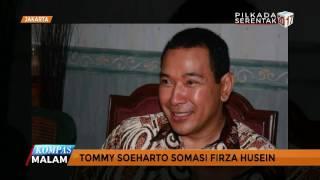 Video Tommy Soeharto Somasi Firza Husein MP3, 3GP, MP4, WEBM, AVI, FLV Februari 2018