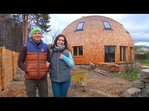 Круглый дом: конструкция стратодезического купола // FОRUМНОUSЕ - DomaVideo.Ru