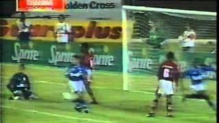 1996: Flamengo 1x1 Cruzeiro Copa do Brasil jogo de ida