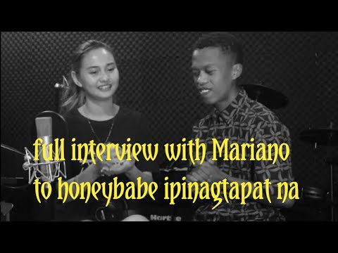 full interview with Mariano to Honeybabe  ipinagtapat na/SY TALENT