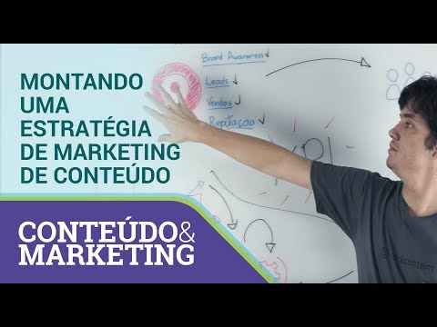Montando uma estratégia de marketing de conteúdo - Conteúdo e Marketing