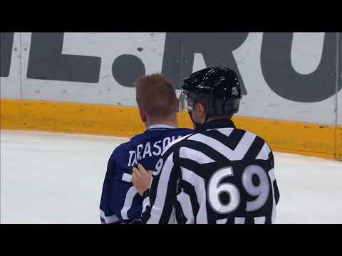 KHL Fight: Tarasov VS Bailen (видео)