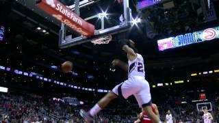 NBA - basket - Al Horford - Kent Bazemore - Mike Scotte - Shaun Livingston - Jeff Teague - LeBron James