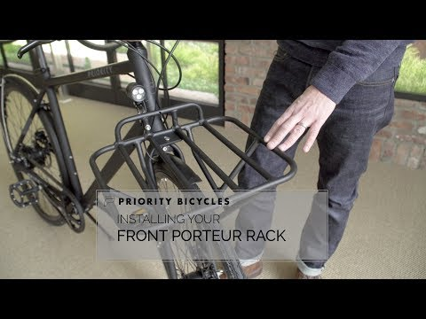Priority Bicycles Front Porteur Rack Assembly