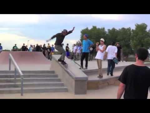 Jerry Hsu, Justin Eldridge, Sean Malto and Marc Johnson @ Rail Bender Skatepark