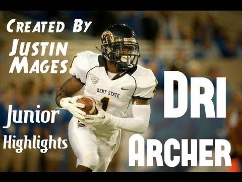 Kent State's Dri Archer - Junior Highlights video.