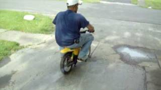 10. vince on a pw50 dirt bike lol!!
