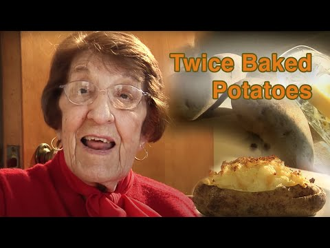 TWICE BAKED POTATO BAKED WITH LOVE