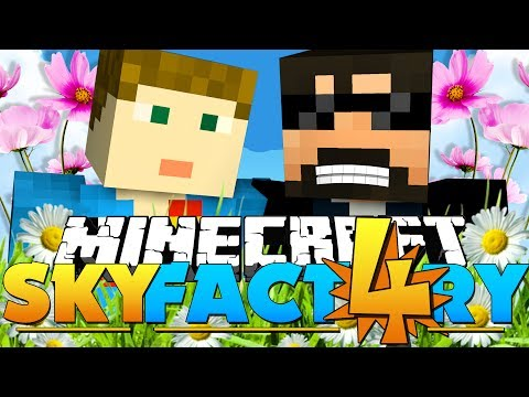 Minecraft: SkyFactory 4 -FLOWER POWER?! [17]