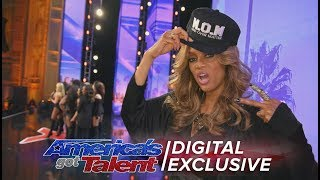 Tyra Banks: Her Crazy and Fiercest Moments - America's Got Talent 2017