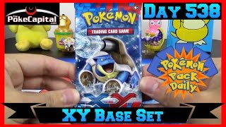 Pokemon Pack Daily XY Base Set Booster Opening Day 538 - Featuring ThePokeCapital by ThePokeCapital