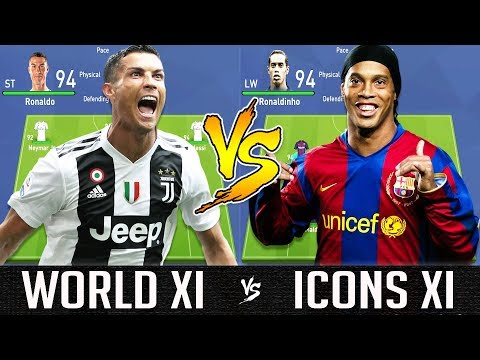 World XI VS Icons XI - FIFA 19 Experiment