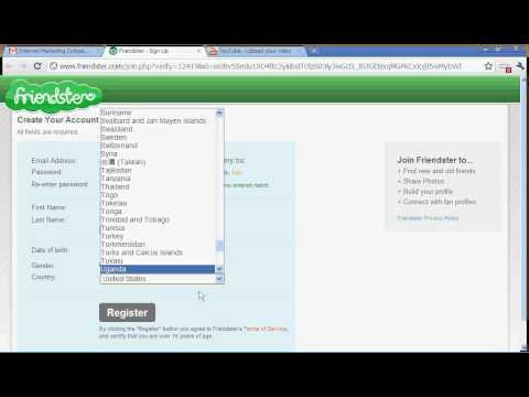 Sign up www friendster com Friendster