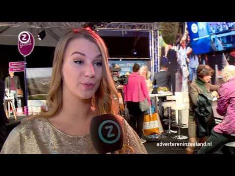 Ondertussen op de Beursvloer: De promo-dames van Omroep Zeeland