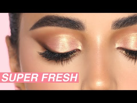 SUPER EASY FRESH MAKEUP | Hindash