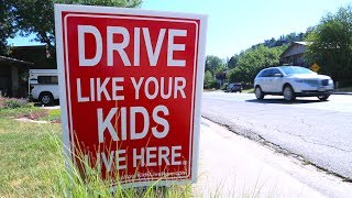 Neighborhood Slows Traffic