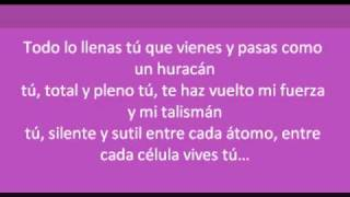 Noelia -Tú (letra)