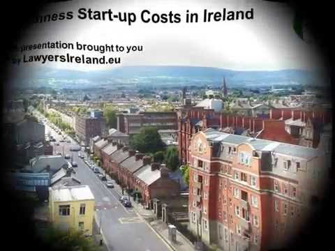 Business Start up Costs in Ireland
