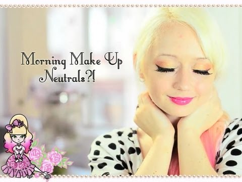 Neutral Make Up?! News And Updates- Morning Make Up - Violet LeBeaux