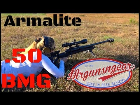 Armalite AR-50 .50BMG Review – Mrgunsngear Channel