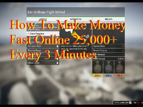 GTA 5 Online – How To Make Money Fast Online 25,000+ Every 3 Minutes (Live Stream #20)