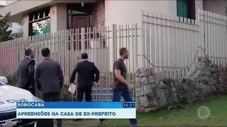 Operação da Polícia Civil apreende documentos e eletrônicos na casa do prefeito cassado de Sorocaba