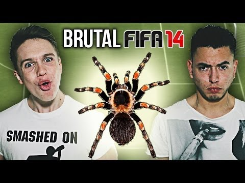Brutal FIFA: EATING A TARANTULA (Weller Vs Oakelfish) (видео)