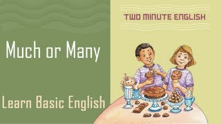 Much and Many, Learn English Grammar